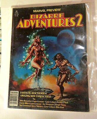 Marvel Bizarre Adventures 2 #23 Fall 1980 Vintage MG126