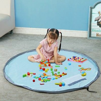 Portable Baby Craw Carpet Toy Storage Bag Play Mat Waterproof