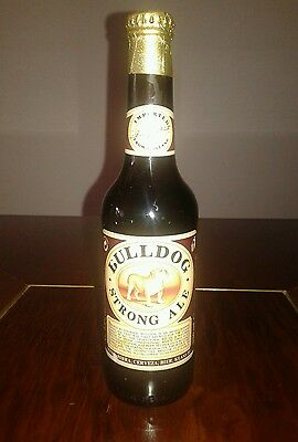 BEER COLLECTIBLES - Bulldog Strong Ale - England - old . anni 90 (x collezione)