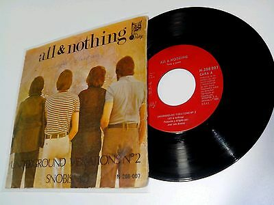 All & Nothing - Underground Vibrations Nº 2 - Rare Spain '70 Psych Funk Groove!