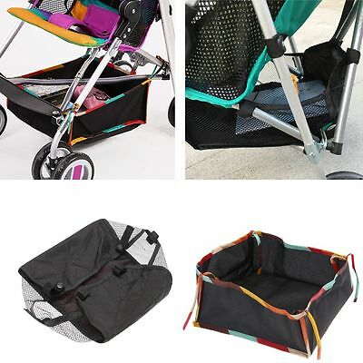 Pushchair  Accessories Bottom Basket Baby Product Stroller  Storage Bag