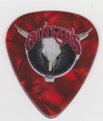 RaRe The OUTLAWS Red GUITAR PICK SOUTHERN ROCK CONCERT MUSIC Electric South USA