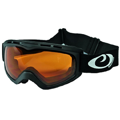 Snow Goggles Adults -Double,Antifog UV 400 Lens Storm blk amber