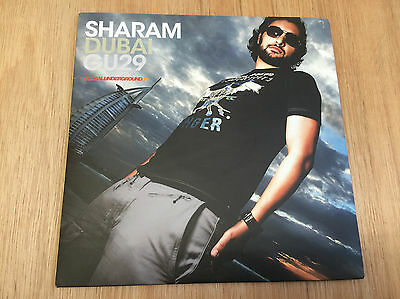 Sharam - Dubai Global Underground 3x12 Mint / Unplayed trance progressive house