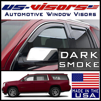 GMC Yukon XL Vent window Shade Visor Shades Visors Rain Guards 07-13