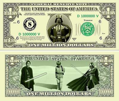 STAR WARS . Lot de 3 Billets différents. USA . Collection / Commémoration