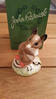 Beswick WOODMOUSE mint & boxed  *Stunning and very rare*  LAST ONE
