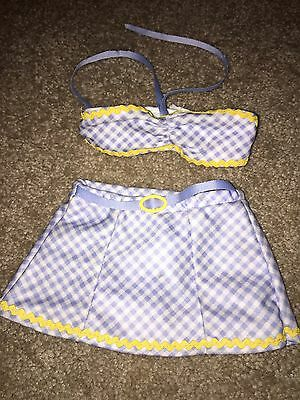 American Girl Emily Swimsuit Bathing Suit Molly Retired Summer