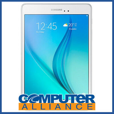 "Samsung Galaxy Tab A 8.0"" 16GB WiFi Android Tablet White PN SM-T350NZWAXSA"