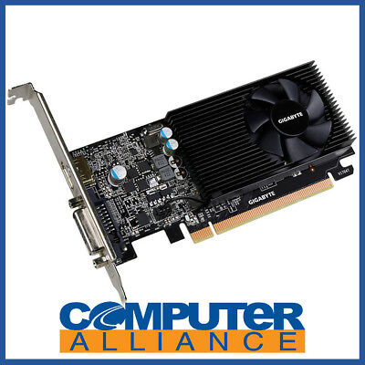 Gigabyte GT1030 2GB OC Low Profile PCIe Gaming Video Card PN GV-N1030D5-2GL