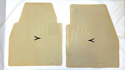Accessory Floor Mat Ivory Set of 4 1955-1962 ALL Ply, Dodge DeSoto Chrysl, Imp