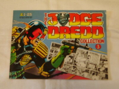 Judge Dredd Collection 3, Ipc Magazines 1987, 48 Pages, Better Than Very Good