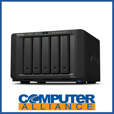 5 Bay Synology DS1517+ 8GB DiskStation Scalable Gigabit NAS Unit