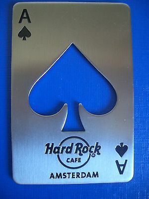 HRC Hard Rock Cafe Amsterdam Spade Bottle Opener 2017