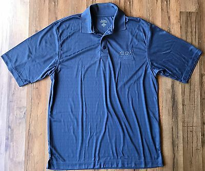 Bell Helicopter Textron Blue Extreme ePerformance Golf Polo Shirt XL