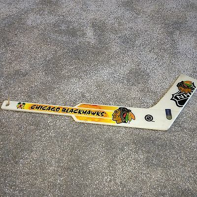 Collectable Official NHL Chicago Blackhawks Mini Plastic Ice Hockey Stick