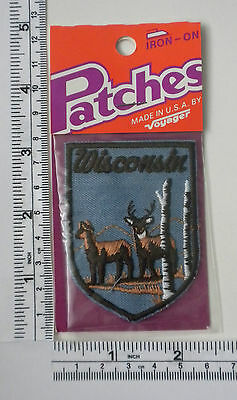 Vintage US State Wisconsin Collectible Patch