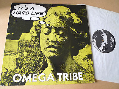 "OMEGA TRIBE It's a Hard Life 12"" CHRIST IT'S 12 Crass Mob Poison Girls Flux"