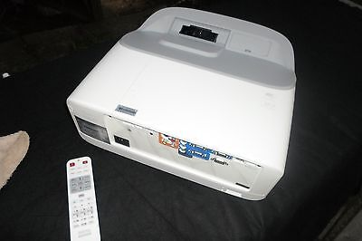 BenQ ultra short throw projector, 3300 Lumens, Nearly New