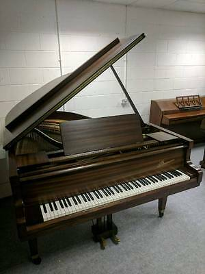 Immaculate 'Danemann' Satin Mahogany Grand Piano - CAN DELIVER