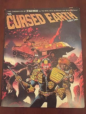 Judge Dredd Cursed Earth Part One Hardcover Pat Mills Brian Bolland Mike McMahon