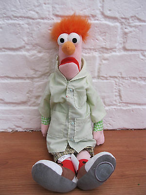 "Official DISNEY STORE EXCLUSIVE Beaker Muppets Large 17"" Plush Toy *Discontined*"