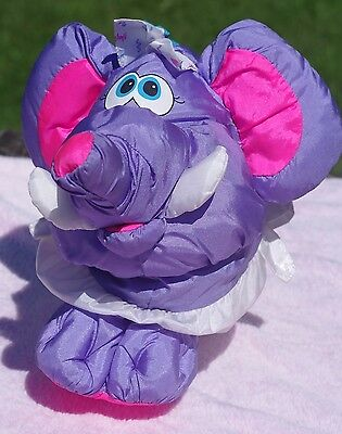 Fisher Price Big Things Baby Elephant Plush Toy 1994