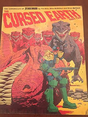 Judge Dredd Cursed Earth Part Two Paperback Pat Mills Brian Bolland Mike McMahon