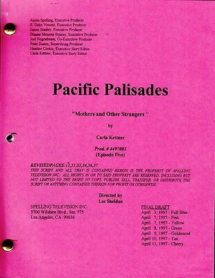JOAN COLLINS - Original Script PACIFIC PALISADES 'Mothers' & Photographs C#75
