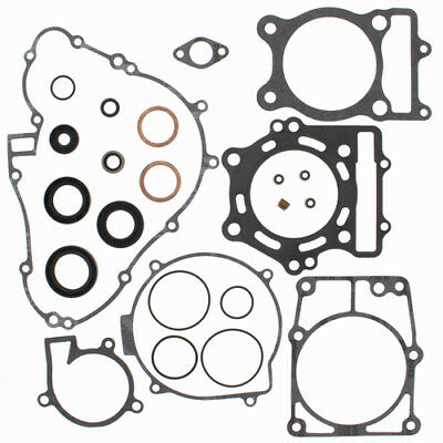 Complete Gasket Kit with Oil Seals For Kawasaki KVF400B Prairie 1998 400cc