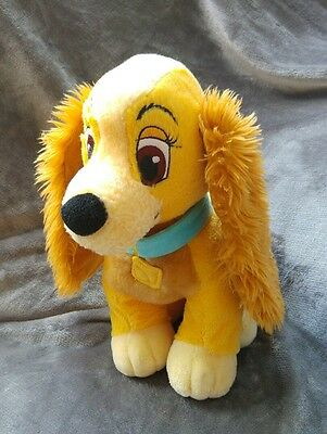disney lady and the tramp lady plush
