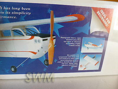 Aero Graphics Lacey M-10 Balsa Build Kit Ideal for Beginners Free Flight or RC?