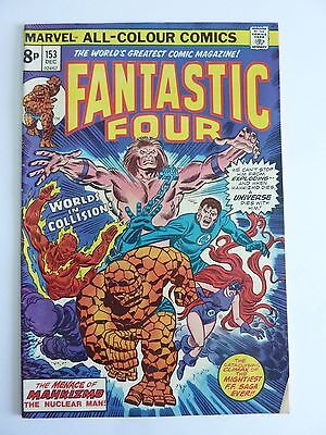 Marvel - Fantastic Four December 1974 No. 153