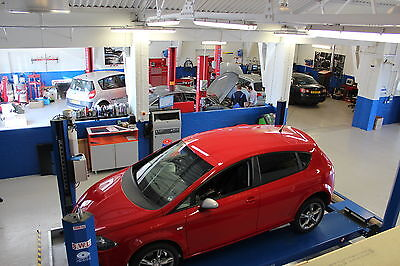 Very Modern Car Service Garage and Class 4 MOT Business for Sale.