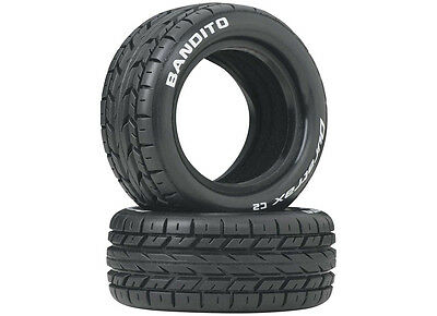 DuraTrax Bandito 1/10 Buggy Tire Front 4WD C2 (2) DTXC3972