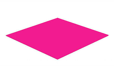 Pink Gloss Acrylic Perspex Sheet Colour Cast Cut to Size Panel Plastic