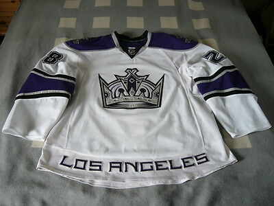 NHL Los Angeles Kings 2010/2011 Game Worn Trikot / Jersey Jarret Stoll #28