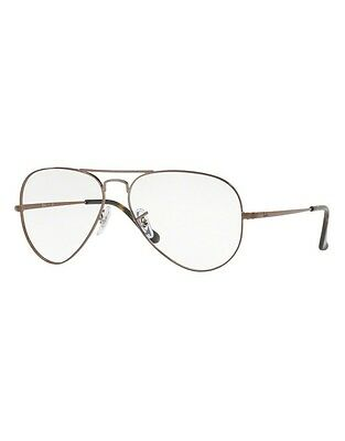 Occhiali da vista Ray Ban RX6489 2531 Light Brown 55-14