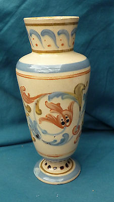 """rare antique very old Vale Torquay ware Candy impressed mark 8 """" 20 cm tall"""
