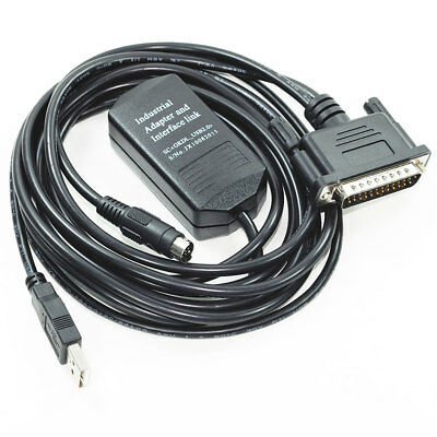 USB PLC interface cable SC09 for Mitsubishi MESLEC A FX model RS422