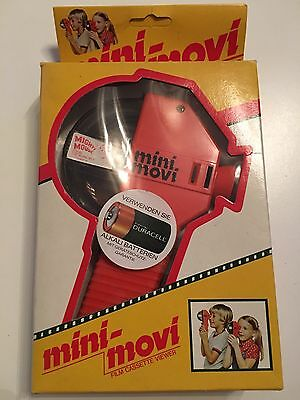 Vintage Mighty Mouse - The Invincible - 1978 - Mini Movi Film Cassette Viewer