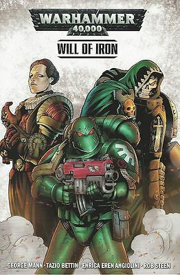 Warhammer 40000 Tpb Vol 1 Will Of Iron (Mr) Reps 1-4 Titan Comics