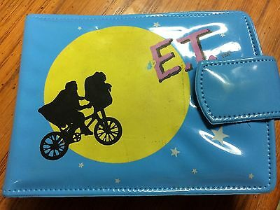 E.T. The Extra Terrestrial Blue Wallet Loose 1982