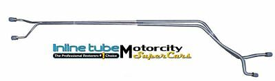 1968-69-70-71-72 Chevelle SS GM A-body Rear Axle brake Lines OEM steel
