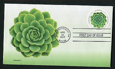 5198 * Green Succulent Global Forever Stamp Of 2017 *