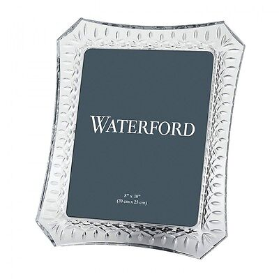 """Waterford Crystal Lismore 8x10"""" Photo Picture Frame *New in Box*"""