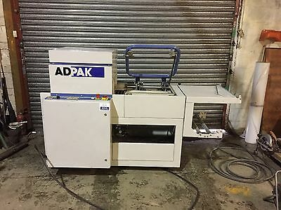 ADPAK (DEM)  L-Sealer and Shrink Tunnel Semi-Automatic
