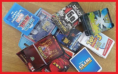 ~~Job Lot Trading Cards Deadly Wild Ben10 Hero Attax Doctor Who Toy Story3 &more
