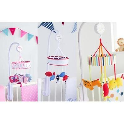 Red Kite Musical Mobile Nursery cot cotbed Carousal Wind up Musical mobile