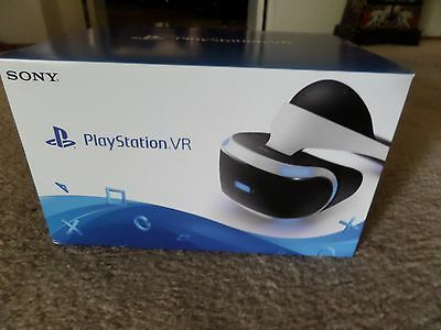 PlayStation VR Headset - Sony Virtual Reality for PS4 (NEW Retail Sealed Box)